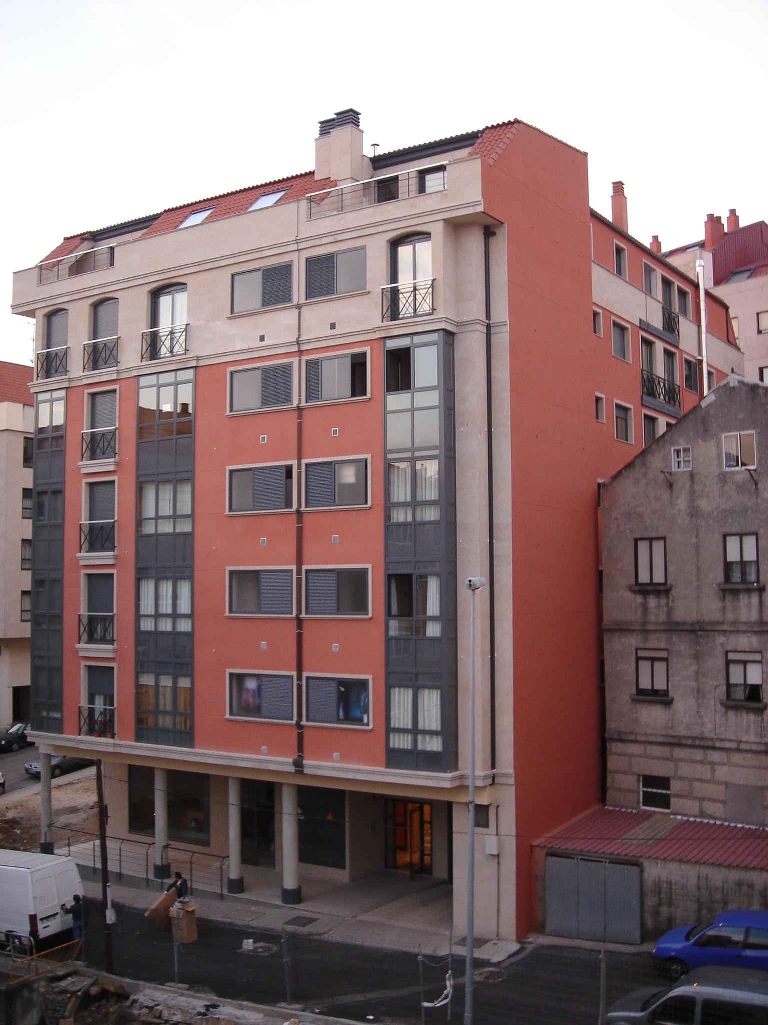 Vivienda colectiva en Vigo